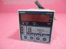 SUNX LH-CS6, Displacement Measurement Controller as photos, sn:5DFN.