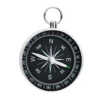 Portable G44-2 Outdoor Aluminum Camping Compass Keychain E6Y4 For Presents N7M7