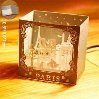 3D Pop Up Cards Birthday Gift Valentines Day Christmas Anniversary Greeting Card