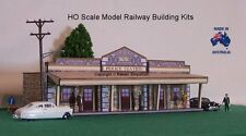 HO Scale Country Australian Police Station Model Railway Building Kit - PSB1