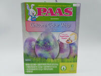New Lot of 5 PAAS Easter Egg Decorating Kits Unicorn Color Whip with Glitter