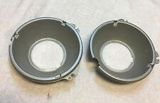 1966-67 Olds Toronado OE Headlight  Reflectors Pair
