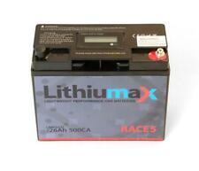 Lithiumax RACE5 500CCA Lithium Race & Road Car 4WD Boat Bike Battery with LCD