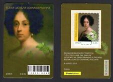 Italia 2018 - Elena Lucrezia Cornaro Piscopia - tessera fil. a tiratura limitata