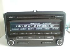 VW RCD 310 DAB CAR RADIO CD PLAYER - GOLF PASSAT TOURAN CADDY SCIROCCO POLO