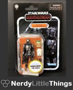 Hasbro - Star Wars - Vintage Collection - Din Djarin (The Mandalorian) & Child