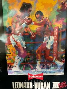 "Official Boxing Program - Sugar Ray Leonard vs Roberto Duran lll ......""Uno Mas"""