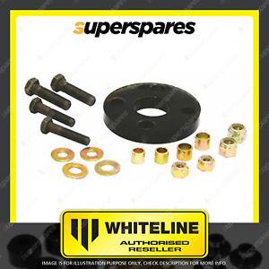 Whiteline Front Steering coupling bushing for HOLDEN STATESMAN HQ HJ HX HZ WB