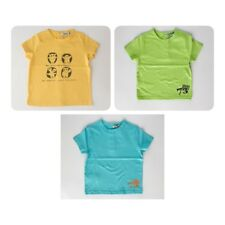 Lote de 3 camisetas de niño (talla 12 meses)