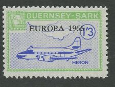 Guernsey SARK 1966 Europa 1s3d PROOFunissued colour + value