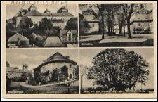 AUGUSTUSBURG Sachsen Mehrbildkarte Schloss Postkarte um 1920/30 ungelaufen