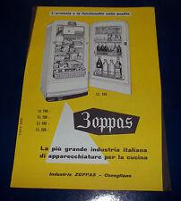 A197-Advertising Pubblicità-1958-ZOPPAS - APPARECCHIATURE PER LA CUCINA