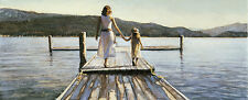 "Steve Hanks, (1949-2015), Time With Mom"", open edition print, Hand-Signed"