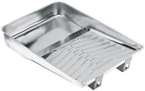 """11"""" Wooster Durable Heavy Duty Deluxe Metal Paint Tray R402"""