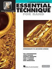 Essential Technique for Band Intermediate to Advanced Studies Eb Barit 000862625