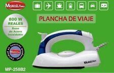 PLANCHA A VAPOR DE VIAJE 800W ANTI ADHERENTE PLEGABLE COMODA VACACIONES PLAYA