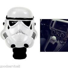 Star Wars 3D Darth Vader Head Stick Shift Clone Trooper Car Manual Gear Shifter