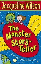 BOOK-The Monster Story-Teller,Jacqueline Wilson, Nick Sharratt- 97805