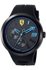 Scuderia Ferrari FXX Herrenuhr Datum 24STD Anzeige 46mm Black-Blue SF0830395