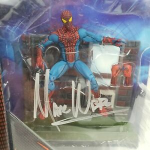2012 Marvel Select The Amazing Spiderman Signed By Director Marc Web Diamond...