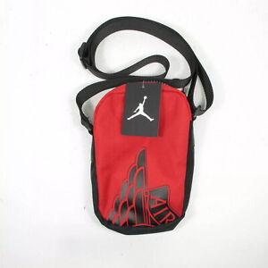 NIKE Air Jordan Red Crossbody Messenger Shoulder Bag   New w/ Tags