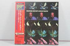 WEATHER REPORT: LIVE IN TOKYO 2CD, JAPAN MINI LP CD, ORIGINAL, LN, HQCD, 1972