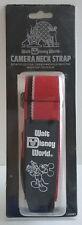 Walt Disney MGM World Park Exclusive MIP NEW Vintage Camera Strap Red Adjustable