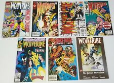 N) Lot of 7 Marvel Wolverine Sabretooth Comic Books