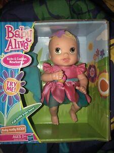 "Baby Slive Kicks And Cuddles Newborn 6"" Tall New"