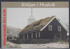 Färöer 1997 ** Mi.326/27 (MH 14) Gebäude Buildings | Kirchen Churches