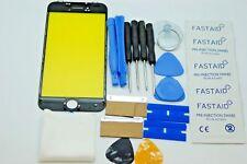 iPhone 8 Schwarz Bildschirm, Glas Reparaturset, Installierter Rahmen, Werkzeug