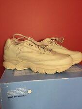 AETREX X829M Men's Athletic Comfort Beige Leather Walking Shoe - Size 7.5M - NIB