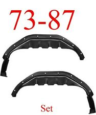 73 87 Chevy Inner Rear Wheel Housing Set, GMC Truck 0850-315, 0850-316