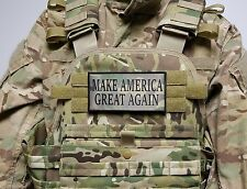 "MAKE AMERICA GREAT AGAIN TRUMP Multicam 3X6"" Morale Patch for Plate Carrier MAGA"