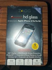Zagg Invisible Shield Glass Screen Protector iPhone 5 iPhone 5s iPhone 5c SE