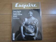 Esquire Magazine Tom Hardy January 2017 Issue With Free Watch Supplement,Sealed.