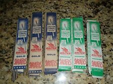 Vintage UNITED FIREWORKS GOLD SPARKLERS and ASSORTED - Rare Boxes
