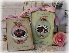 "New! ""Cacao A. Driessen""~Shabby Chic~Country Cottage style - Wall Decor Sign"