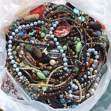 1Kg of Broken Costume Jewellery for Crafts / Repairs etc
