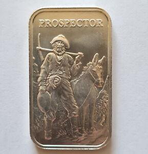 Prospector 1ozt .999 Fine Silver Bullion Bar