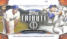 2018 Topps Tribute Baseball Sealed Hobby Box