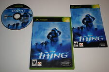 The Thing Microsoft Xbox Video Game Complete