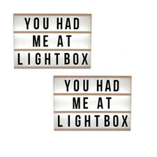 CINEMATIC LIGHT BOX A3 B/O AA 12V POWER OPTION