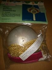 """Vintage Beaded Ornament Kit From Lee Wards """"Regal"""""""