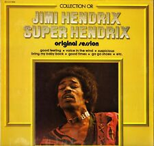 "JIMI HENDRIX ""SUPER HENDRIX"" ROCK 70'S LP MUSIDISC 1354"