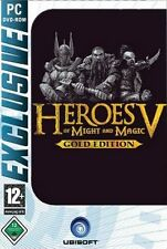 HEROES OF MIGHT AND MAGIC 5 + 2 AddOns = Gold GuterZust.