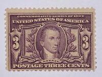 Travelstamps: US Stamps Collection Scott#325 3c Mint H OG CV$70