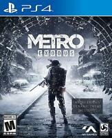 Metro Exodus (PlayStation 4, PS4) Brand New Factory Sealed
