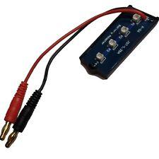 4x Micro JST LiPo Batería con carga Board para MCX/2 MSR/X Blade Nano/QX Eflite Heli