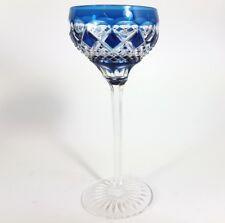 Römer/ Wein- Glas Überfangglas, handgeschliffen, Val St. Lambert, um 1920  AL134